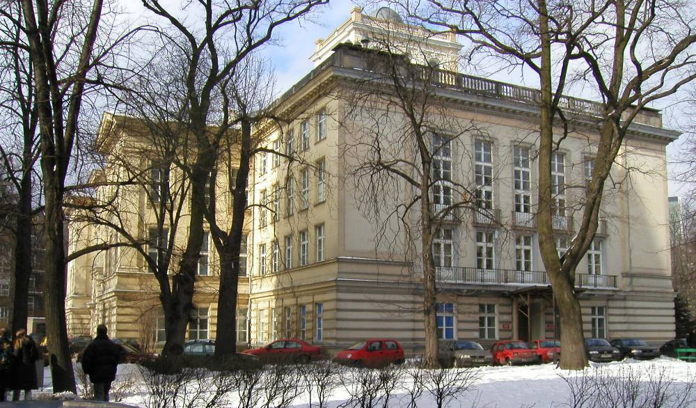 The building of the Faculty of Physiscs